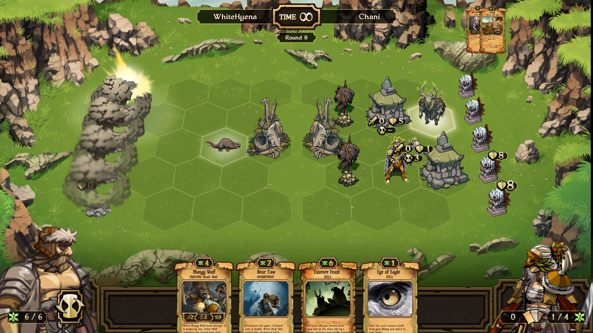 Exploding - Scrolls Review - The Art of Scrolling